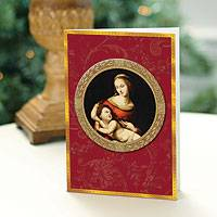 Holiday greeting cards, 'Madonna and Child' (set of 20) - UNICEF Holiday Cards Boxed Set