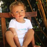 UNICEF Onesie - Let Them Help Spread the Message
