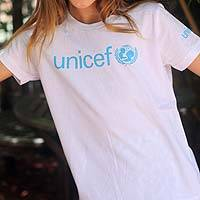 UNICEF Youth Shirt - Let Them Help Spread the Message