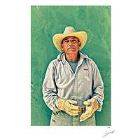 'Tequila Man' - Tequila Worker Color Photograph Limited Edition