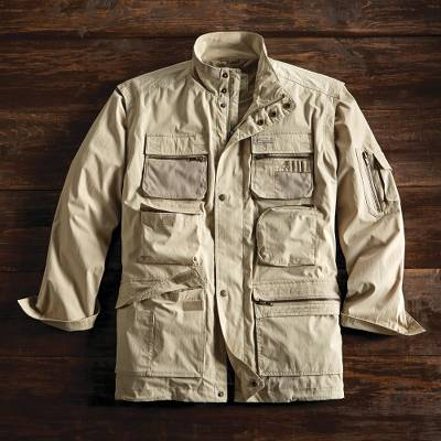 Convertible Travel Jacket Backwoods Adventure Novica