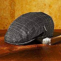 Men's wool and Gore-Tex driving cap, 'Sunday Drive' - Gore-Tex Waterproof Wool Driving Cap