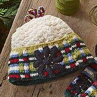 Wool hat, 'Kathmandu Valley' - Katmandu Valley Hat