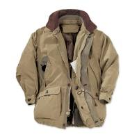 Men's microfiber travel coat, 'Intrepid Explorer' - Microfiber Travel Coat