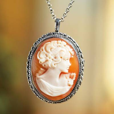 necklace cameo the bimonte sorrento pendant slider