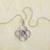 Birthstone pendant necklace, 'Celtic Knot' - Celtic Knot Birthstone Necklace (image 2f) thumbail