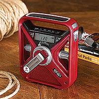 American Red Cross Field Radio and Phone Charger - American Red Cross Field Weather Radio and Charger