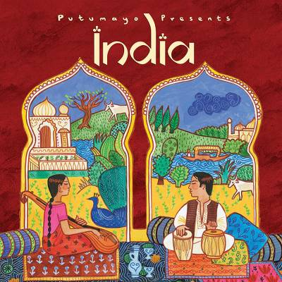 Audio CD, 'India' - Putumayo Music CD of Indian Songs