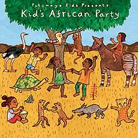 Audio CD, 'Kids African Party' - Putumayo Kids African Party Music CD