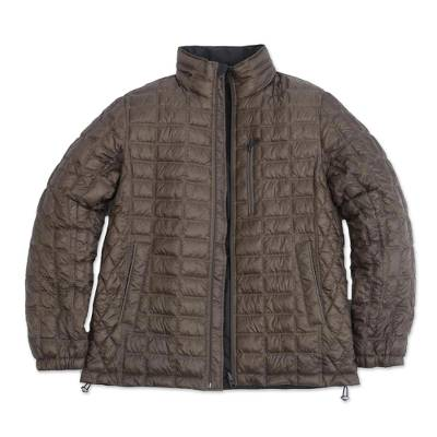 Quilted Reversible Travel Jacket for Men