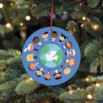 UNICEF Market | UNICEF Holiday Ornament-Cards Boxed Set of 10 - Children Around the World