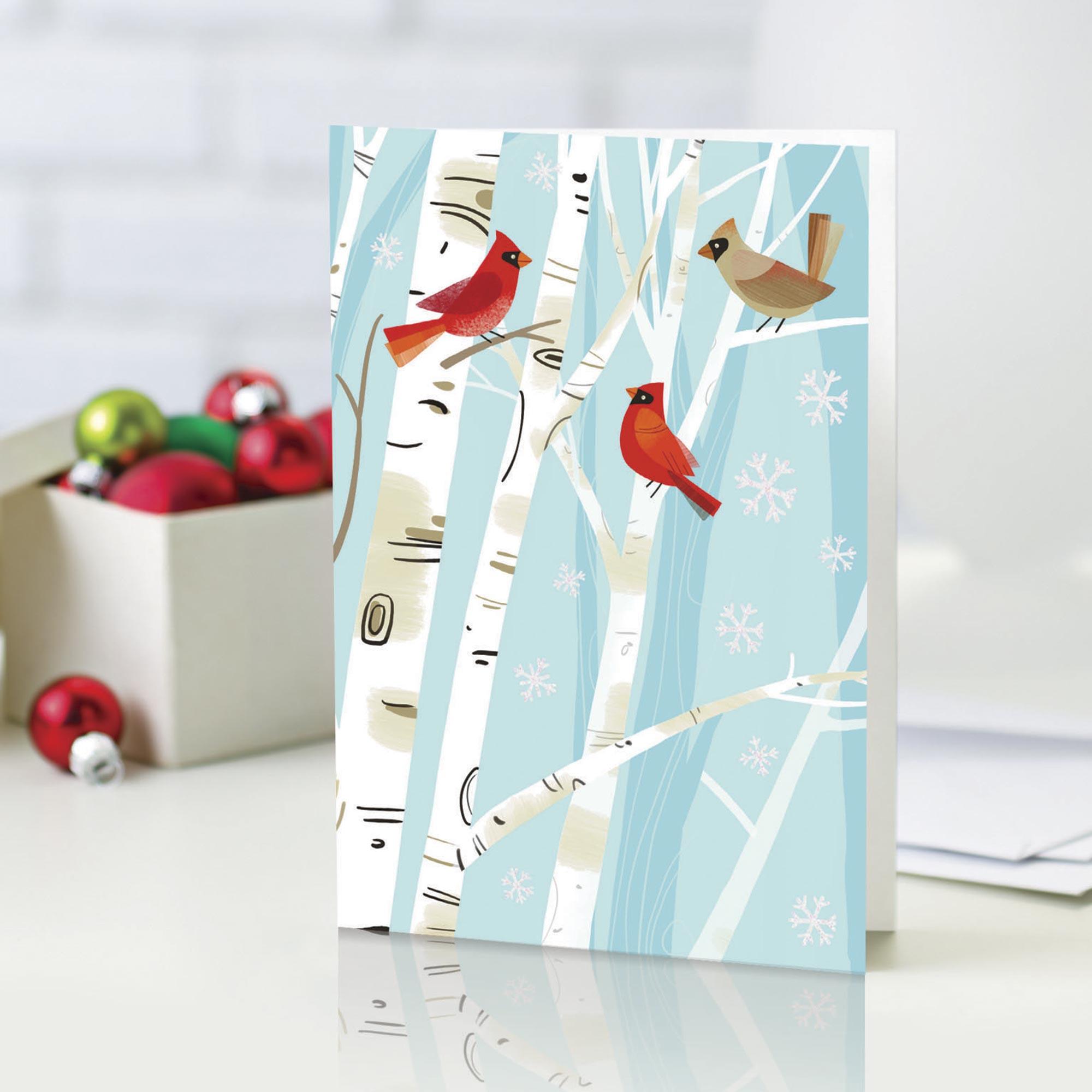 Unicef Market Unicef Holiday Cards Boxed Set Of 12 The Cardinals