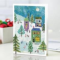 UNICEF holiday cards, 'Making Memories' (set of 20) - UNICEF Holiday Cards Boxed Set of 20