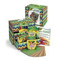 Crayola Big Ideas Box - Art supplies with easy storage organizer.