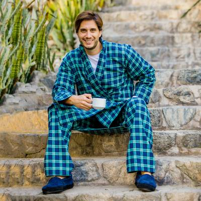 Mens cotton flannel pajama pant, High Glen