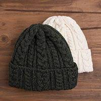 Featured review for Knit wool hat, Galway Bay