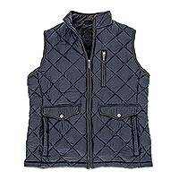 Men's Diamond Quilted Travel Vest - Men's Diamond Quilted Travel Vest