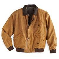 Men's Outback Canvas Jacket - Men's Outback Canvas Jacket