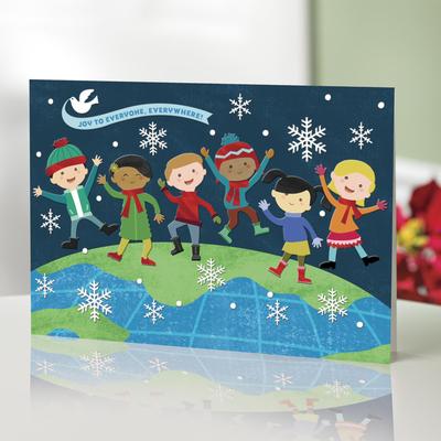Unicef Christmas Cards 2020 UNICEF Market | UNICEF Holiday Cards with Joyful Kids (set of 16