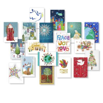 Unicef Christmas Cards.Unicef Holiday Card Assortment Set Of 20 Holiday Card Assortment