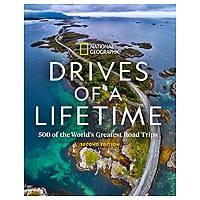 'DRIVES OF A LIFETIME: 2ND edition' - National Geographic Drives of a Lifetime Book 2nd Ed