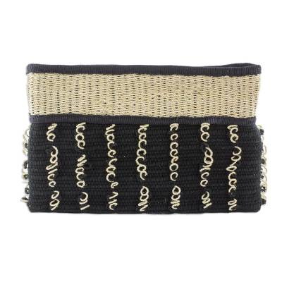 Artisan Crafted Cotton Clutch Handbag