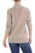 Cotton cardigan sweater, 'Maya Beige' - Women's Natural Cotton Cardigan Sweater (image 2c) thumbail