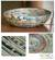 Recycled paper decorative bowl, 'Vortex' - Modern Recycled Paper Bowl Centerpiece (image 2) thumbail
