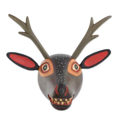 Hand Made Wood Deer Wall Art