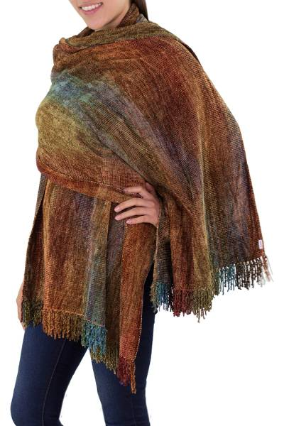 Bamboo Chenille Patterned Women