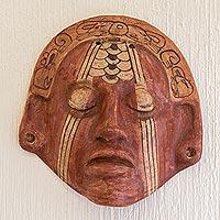 Ceramic mask, 'Maya Nobleman'