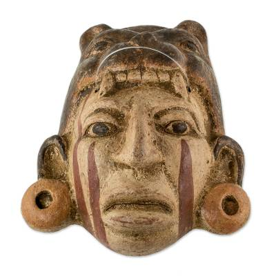 Unicef Market Fair Trade Central American Ceramic Mask