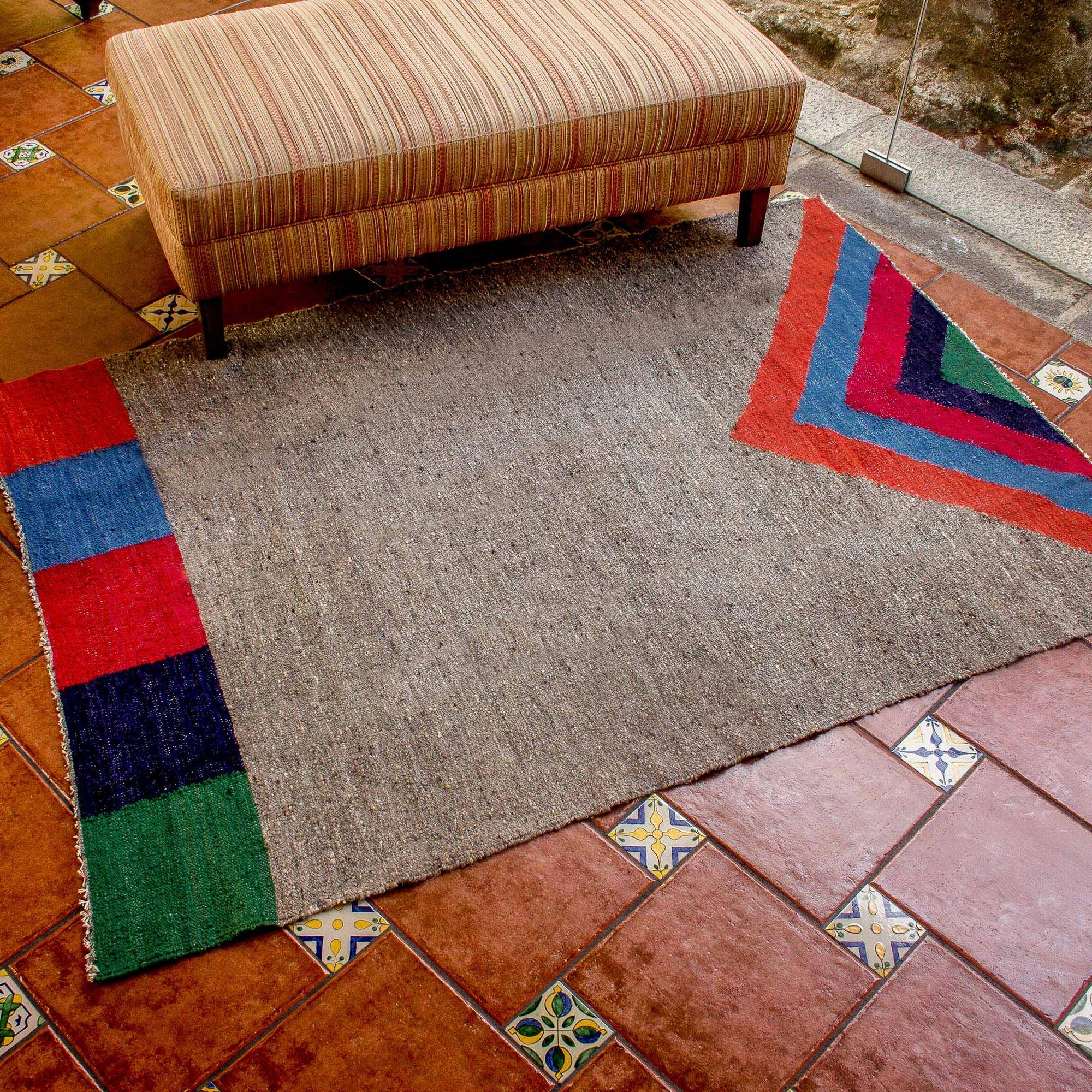 Wool Area Rug from Central America