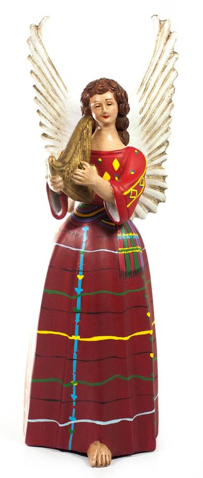 Handcrafted Angel Ceramic Figurine Sculpture