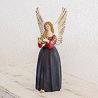 Ceramic figurine, 'Angel from Todos Santos' - Ceramic figurine