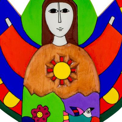 Unicef Market Multicolor Angel Wood Wall Art Angel Of Hope