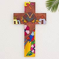 Pinewood cross,