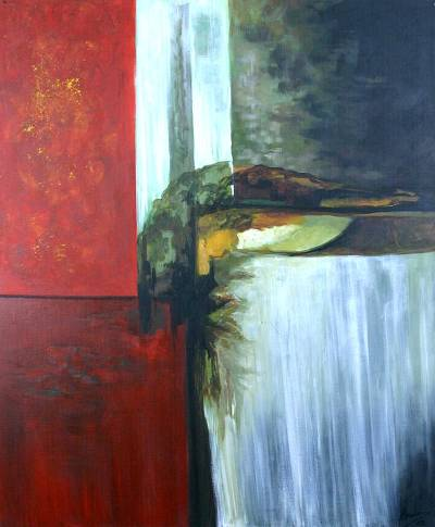 'Water' - Landscape Abstract Art Painting
