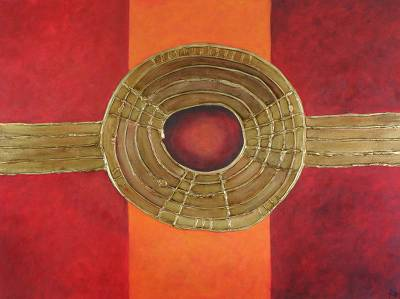 'Three Days' (2010) - Spiritual Abstract Art Painting