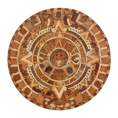 Central American Archaeological Wood Calendar