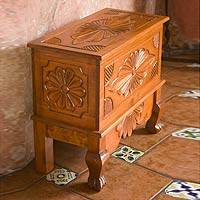 Wood trunk, 'Nahuala Bouquet' (large) - Wood trunk (Large)