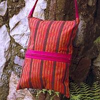 Cotton shoulder bag,