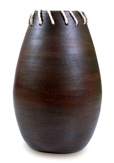Artisan Crafted Rustic Ceramic Vase