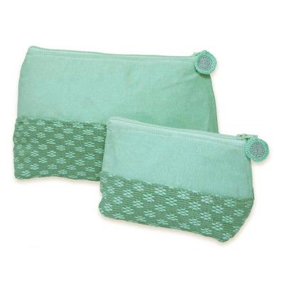 Fair Trade Floral Cosmetic Bags (Pair)