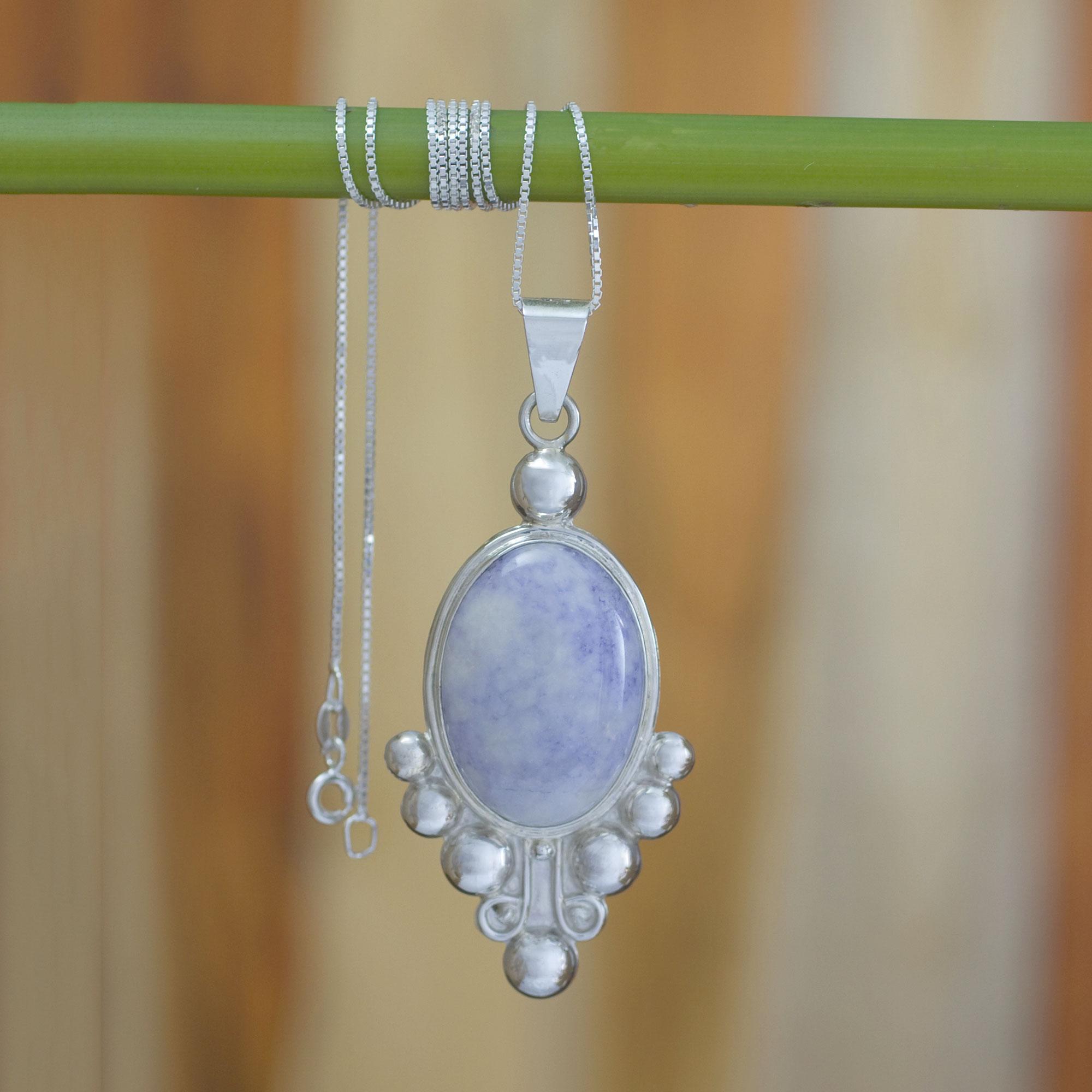 18 Delicate Soul NOVICA .925 Sterling Silver Pendant Necklace