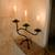 Iron candleholder, 'Earth Light' - Iron candleholder (image 2) thumbail