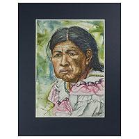 'Elderly Chorti Woman'