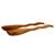 Cedar salad serving set, 'Forest Whisper' (pair) - Collectible Wood Salad Serving Set (image 2b) thumbail