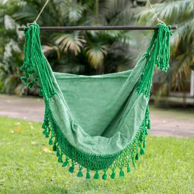 Cotton hammock swing, Take Me to the Forest
