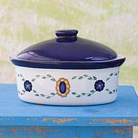 Ceramic serving dish, 'Margarita' - Ceramic serving dish